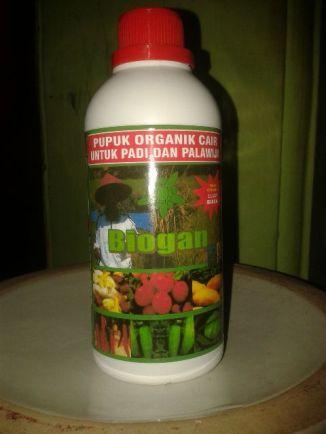 POC BIOGAN untuk padi palawija & sayuran